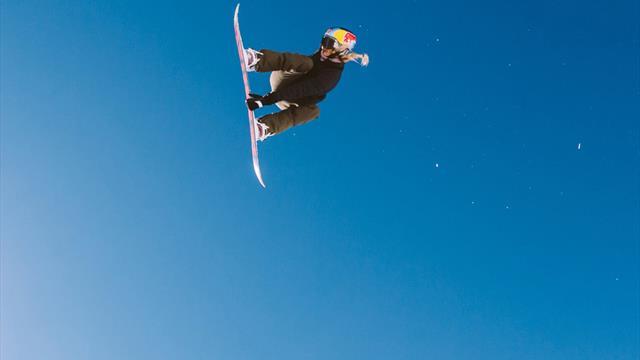 Snowboard-Geschichte: Gasser steht Cab Triple Underflip 1260