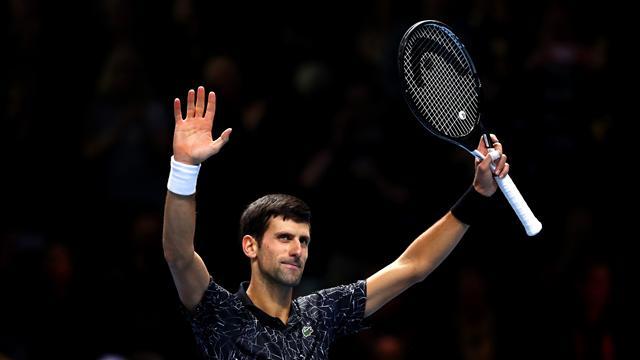 Djokovic, premier qualifié pour les demi-finales