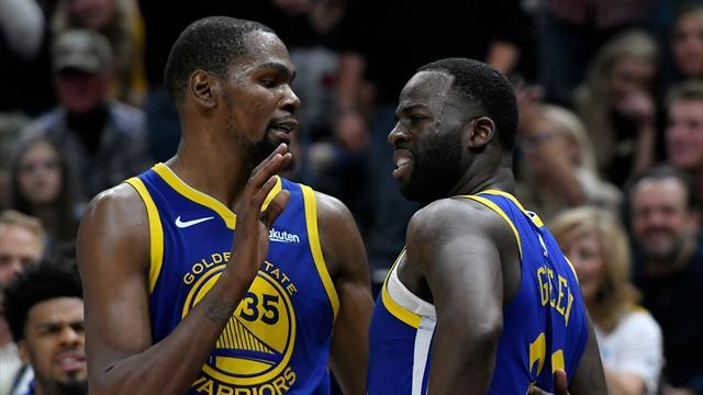 """""""Bouleversé"""", Durant ne veut pas faire de sa dispute un facteur de départ"""