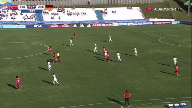 U17-WM der Frauen: So schießt sich Deutschland zum Premierensieg