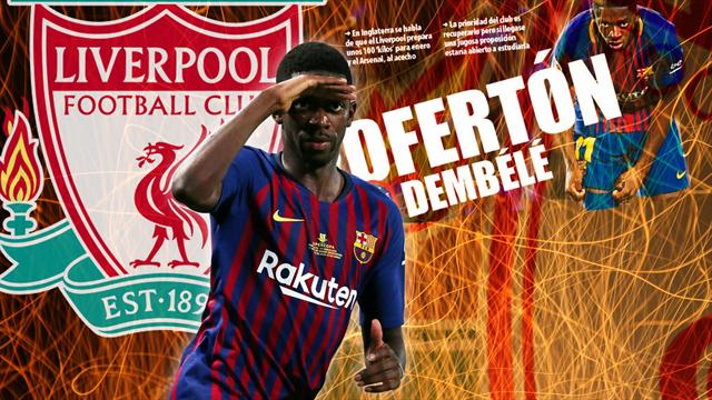 Euro Papers: Liverpool launch £85m bid for Dembele