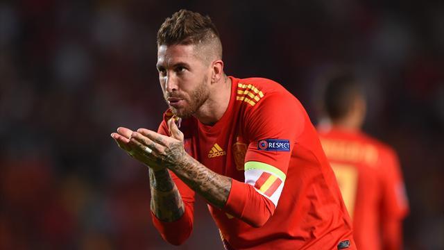 Sergio Ramos supera a Casillas y ya es el jugador con más victorias en su selección