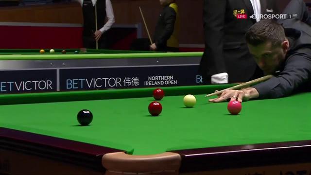 Mark Selby makes century break at Northern Ireland Open