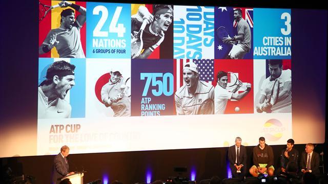 L'ATP met le paquet pour contrer la Coupe Davis