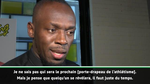 """Athlétisme - Bolt sur la relève : """"Il faut juste du temps"""""""