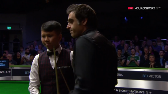 'Just brilliant!' - O'Sullivan wraps up win with sumptuous black