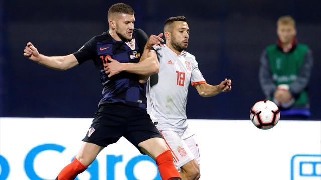 🇪🇸 España cae en el 93' y ya solo le vale un empate en el Inglaterra-Croacia (3-2)