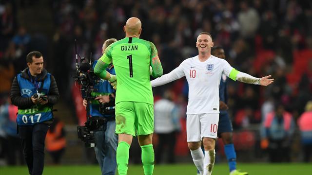 Best Tweets: Guzan the villain as Rooney ends his England career