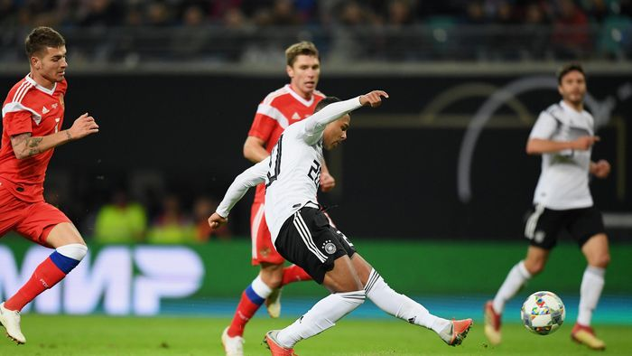Football News Leroy Sane Scores His First International Goal As