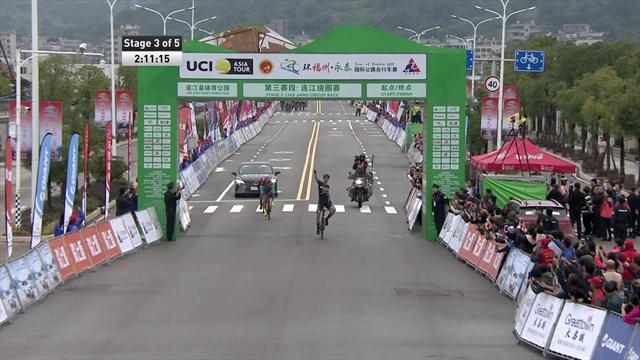 Tour of Fuzhou: la terza tappa a Slik in volata, battuti Davidenok e Dyball