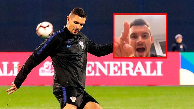 """El brutal ataque de Lovren a Ramos y a la Selección: """"Son unos cobardes"""""""