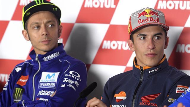 Question salaire, Marquez devance aussi Rossi