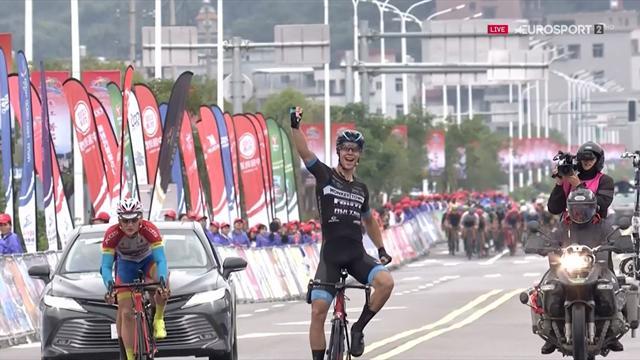 Ivar Slik sprint in China naar zijn eerste profzege