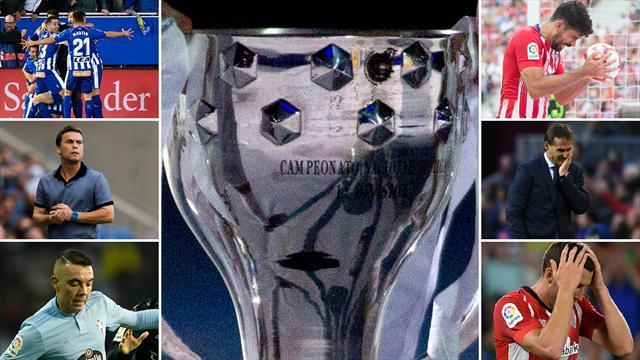 Luces y sombras de la Liga tras un trimestre de competición