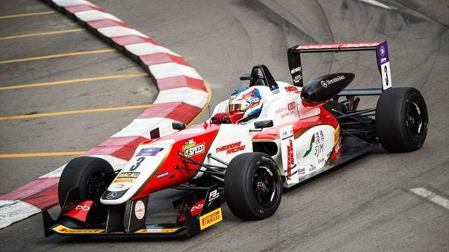 Мик Шумахер и ГП на Макао по Евроспорт