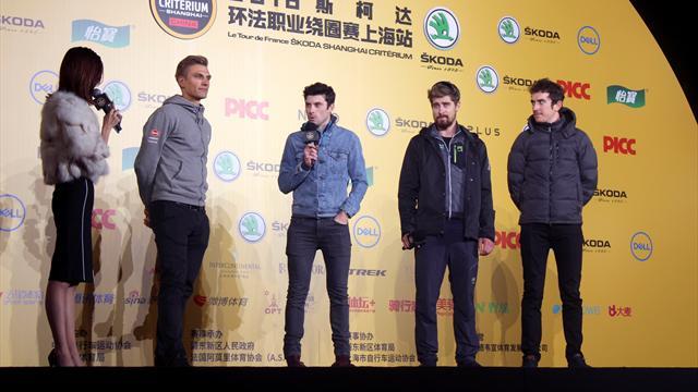 Sagan vs Geraint Thomas: El Tour de Francia del otoño se corre en Shanghai