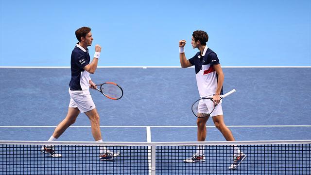 Masters doubles : Mahut et Herbert en demi-finales