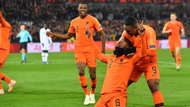 Erreur de Nzonzi, arrêt réflexe de Lloris et… Wijnaldum a ouvert le score pour les Oranje