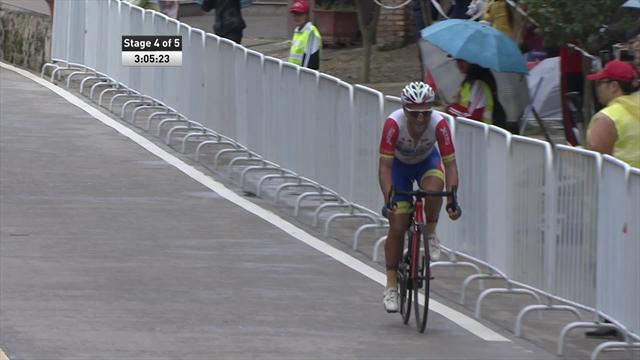 En solitaire, Kononenko s'offre la 4e étape