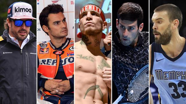 Alonso, Pedrosa, Lejarraga, Djokovic y Marc Gasol, los nombres del día