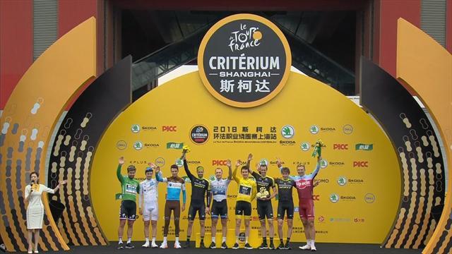 Sagan edges out Thomas to win Shanghai Criterium