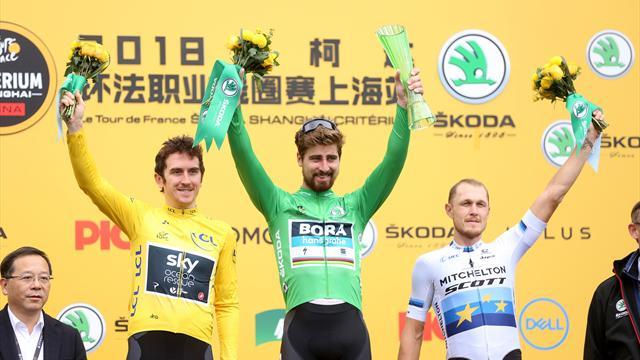 Sagan takes sprint victory over Thomas in Shanghai Critérium