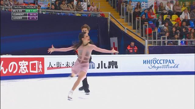 El histórico ejercicio de Sara Hurtado y Kirill Khaliavin con la primera medalla española en danza