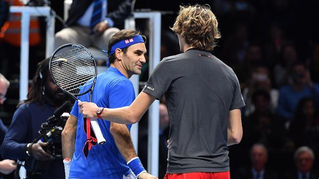 """Federer à Zverev : """"Ferme-la ! Tu n'as pas à t'excuser"""""""