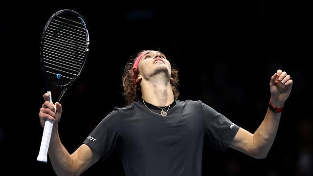 Zverev shocks Federer in straight sets to reach final