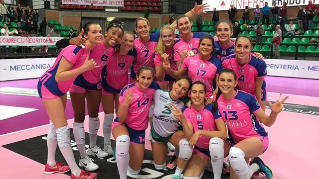 Monza e Novara in semifinale: Busto Arsizio e Firenze battute