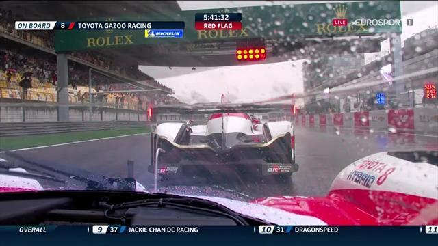 6 Horas de Shanghai: La lluvia no dio tregua y obligó a parar la carrera dos veces