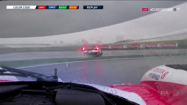 Lluvia, banderas rojas, error en boxes, exhibición de Alonso... Lo mejor de las 6 Horas de Shanghai