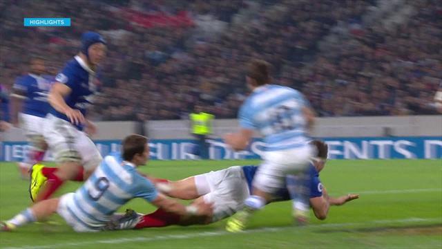 Highlights: Francia-Argentina 28-13, i Pumas crollano nella ripresa
