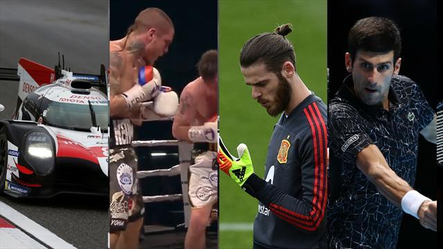 Alonso, Lejarraga, De Gea y Djokovic, los nombres del día