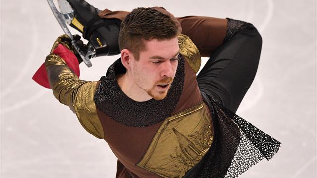 Eiskunstlauf: Fentz Sechster in Moskau - Hanyu und Sagitowa souverän