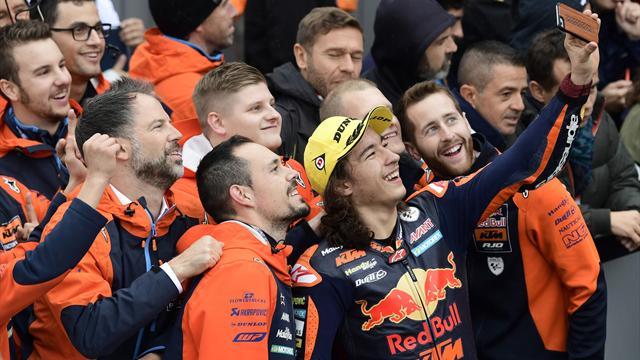 Moto3. Bezzecchi, finale di stagione amaro