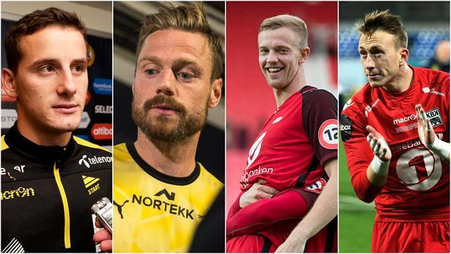 Eliteseriens Bosman-spillere: – Hete objekter for ganske mange klubber