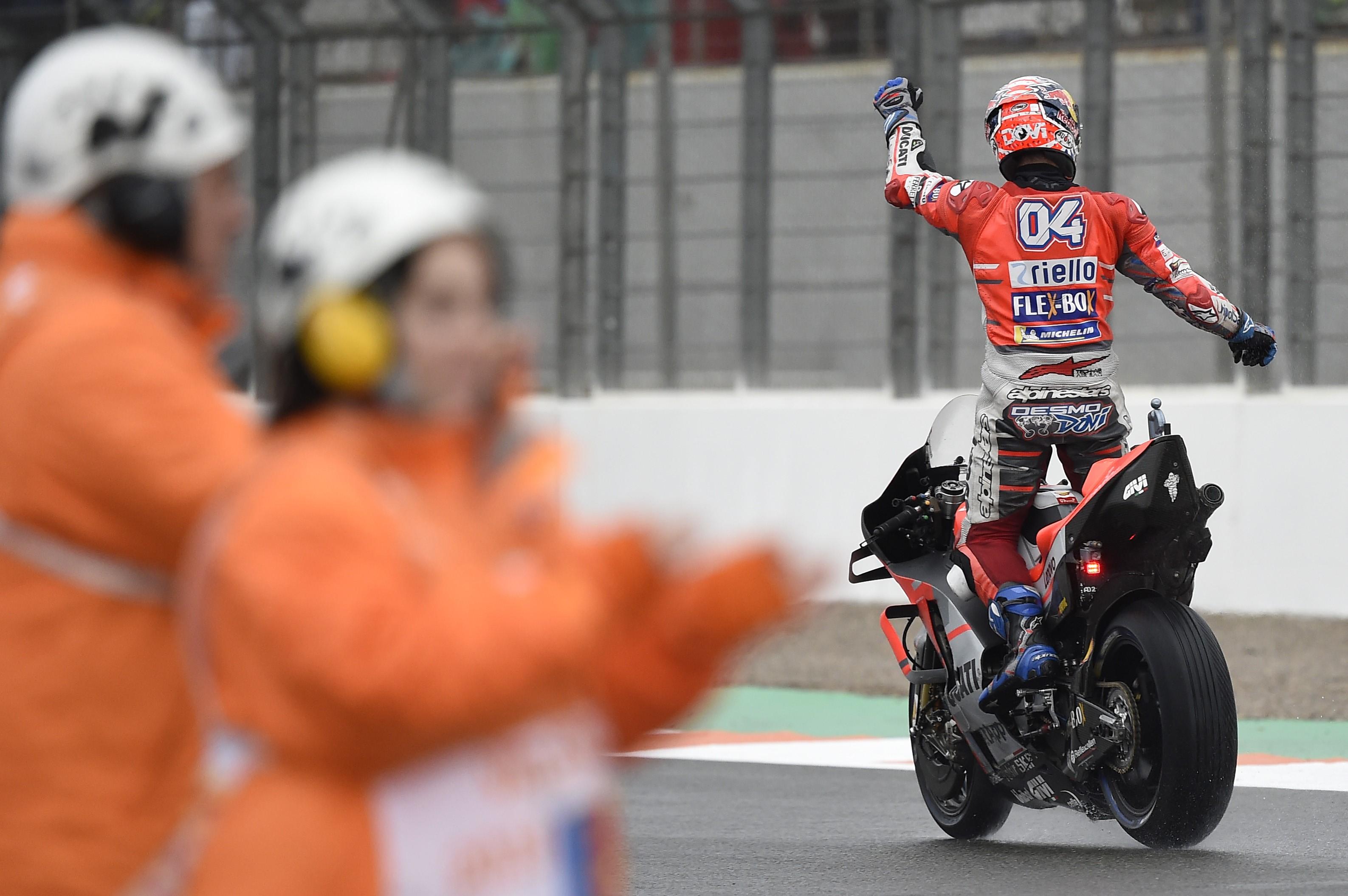 Andrea Dovizioso (Ducati Team) au Grand Prix de Valence 2018