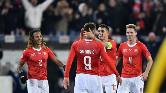 Seferovic smashes hat-trick for Swiss as Belgium crash out
