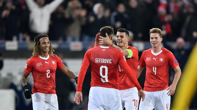 UEFA Nations League, Suiza-Bélgica: A la Final Four tras una espectacular remontada (5-2)