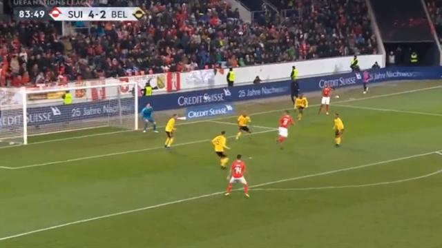 Швейцария разгромила Бельгию ипробилась вплей-офф Лиги наций