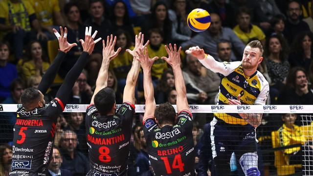 Perugia, Trento e Civitanova ok: Modena passa a Padova con un super Zaytsev