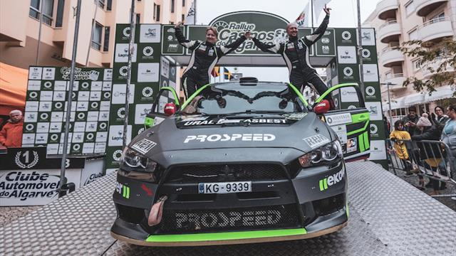 Tarmac tamed: ERC2 star Remennik wins FIA European Rally Trophy ERT2 title