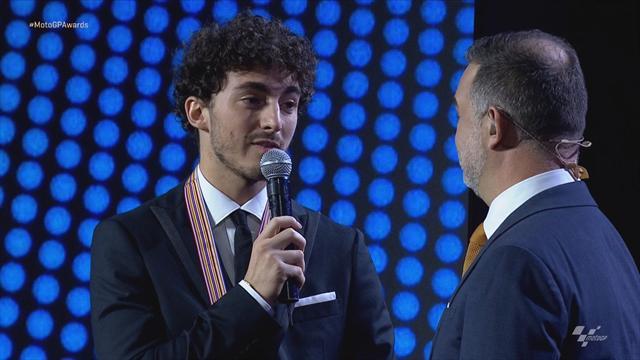 MotoGP Awards: Bagnaia als Moto2-Weltmeister ausgezeichnet