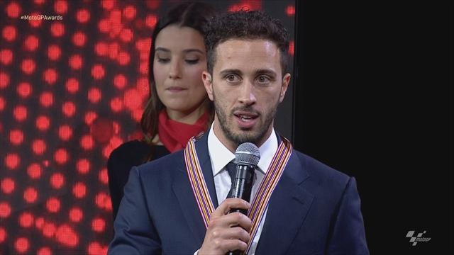 MotoGP Awards: Dovizioso mit Kampfansage für 2019