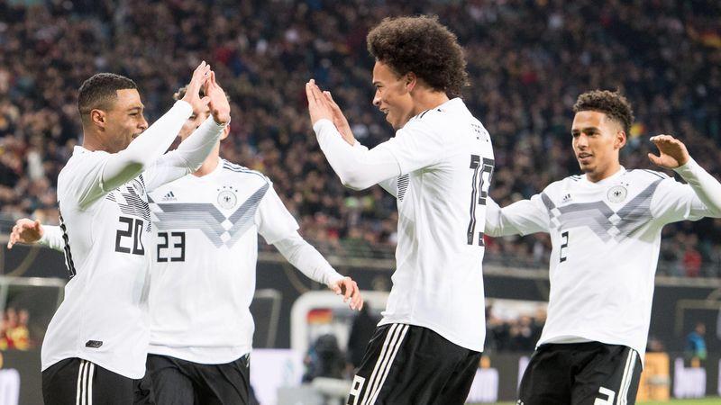 Germany: Gnabry, Sané, Kehrer celebrate