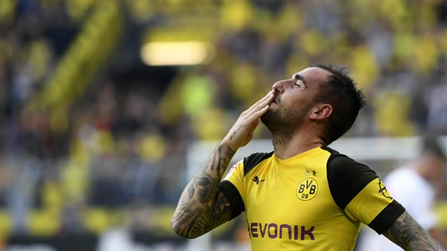 Dortmund to make Alcacer loan permanent in £24.7m deal