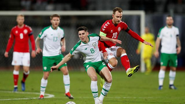 Relegated Ireland held to listless deadlock by Denmark