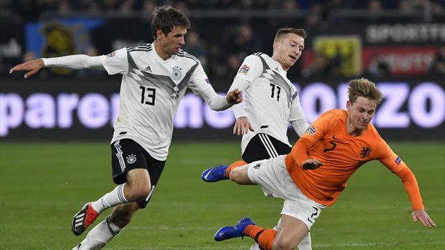Même pour sa 100e, Müller n'a pas été à la fête