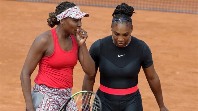 Las hermanas Williams como no las habías visto: así eran en sus inicios en el tenis